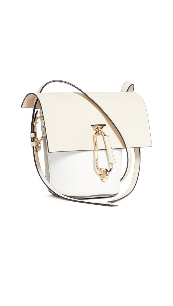 ZAC Zac Posen Belay Colorblock Crossbody in ivory