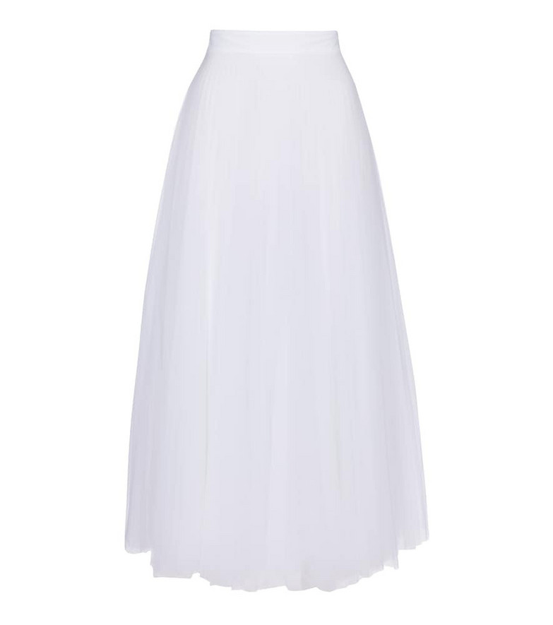 Christopher Kane Exclusive to Mytheresa – Tulle maxi skirt in white