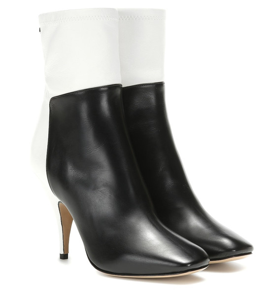 Petar Petrov Selma leather ankle boots in black