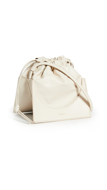 Yuzefi Pouchy Bag in cream