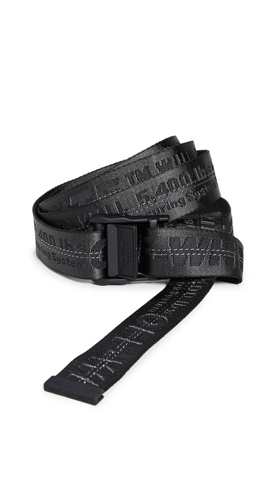Off-White Classic Industrial Belt in black