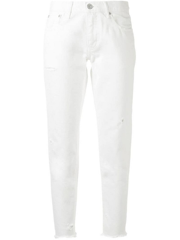 Moussy Vintage Kelly tapered jeans in white