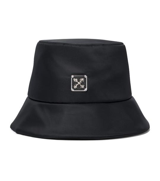 Off-White Arrows bucket hat in black