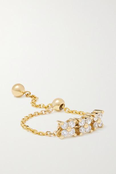 Anissa Kermiche - Brontë Doré 14-karat Gold Diamond Ring