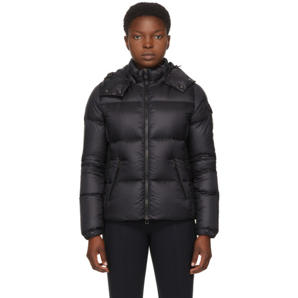 Moncler Black Down Fourmi Coat