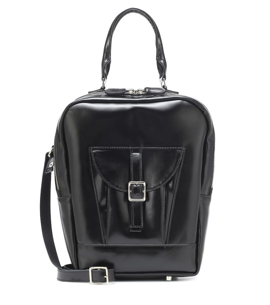 Junya Watanabe Faux leather tote in black