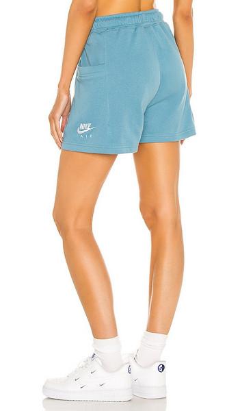 Nike W NSW Air Short Flc Hr in Blue in white