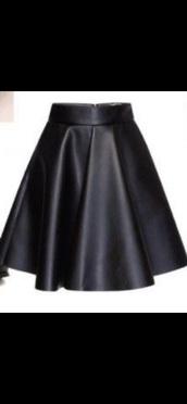 skirt,black,leather,goth