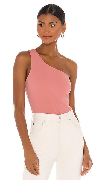 Show Me Your Mumu Uno Bodysuit in Pink in rose