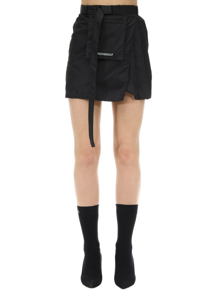 REPRESENT Technical Skirt in black