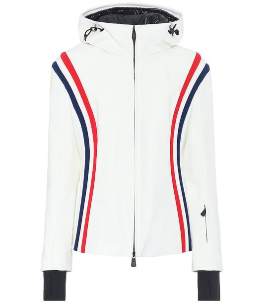 Moncler Grenoble Brenva ski jacket in white