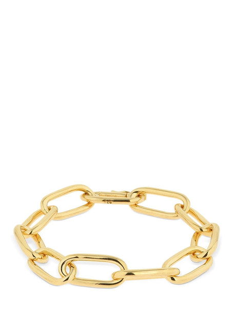 SOPHIE BUHAI Large Rectangular Chain Bracelet in gold
