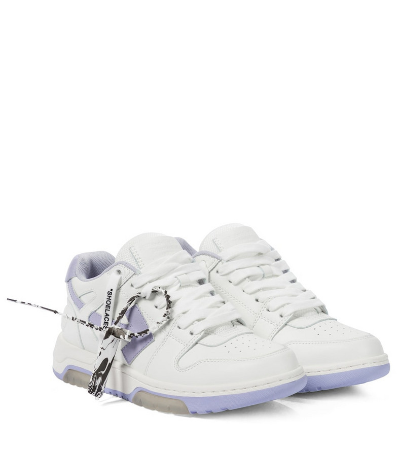 Off-White Exclusive to Mytheresa – Out of Office leather sneakers in white