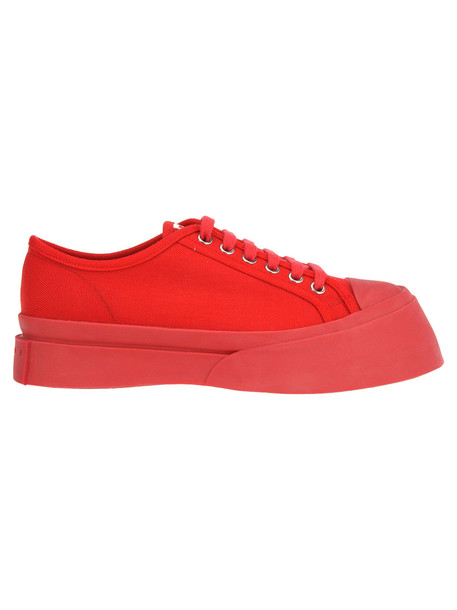 Marni Sneaker Rubber Point in red