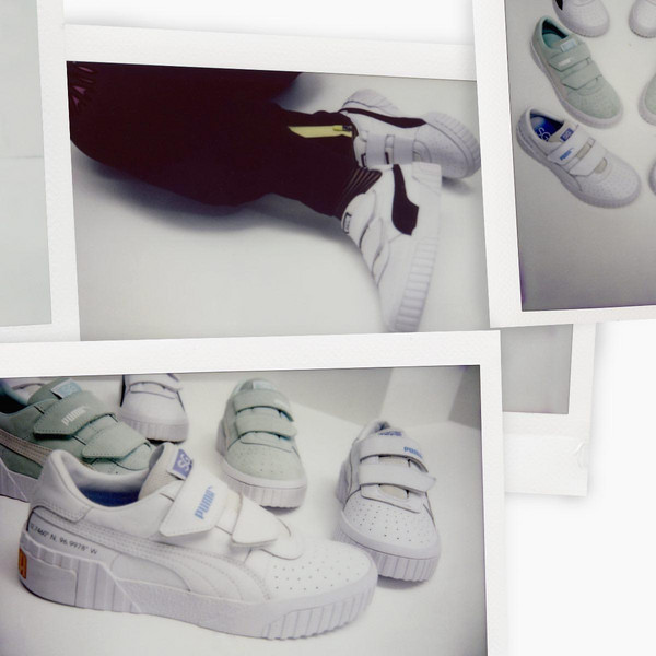 PUMA x Selena Gomez Cali Women's Trainers in White, size 35.5