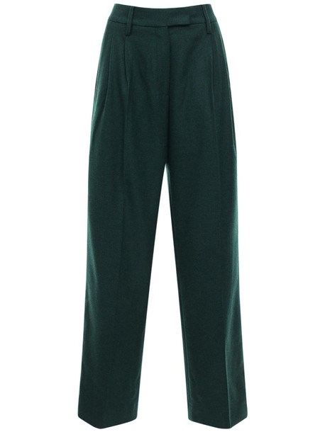 REMAIN Camino Wool Blend Pants in grey