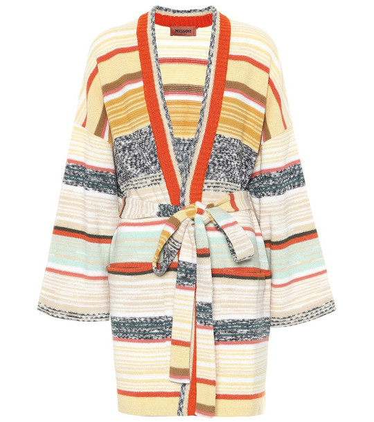 Missoni Striped knit wool cardigan