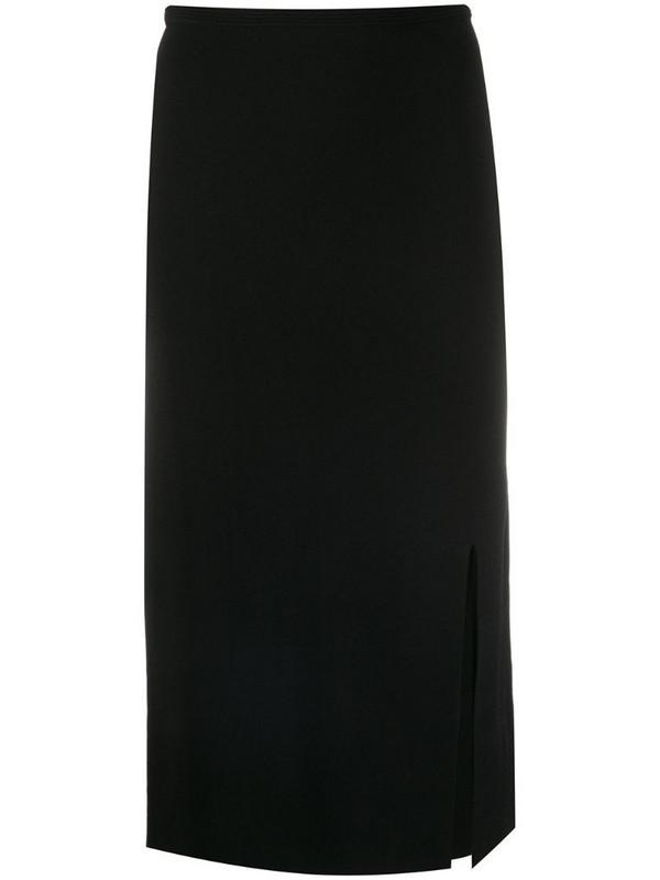 DVF Diane von Furstenberg high waist pencil skirt in black