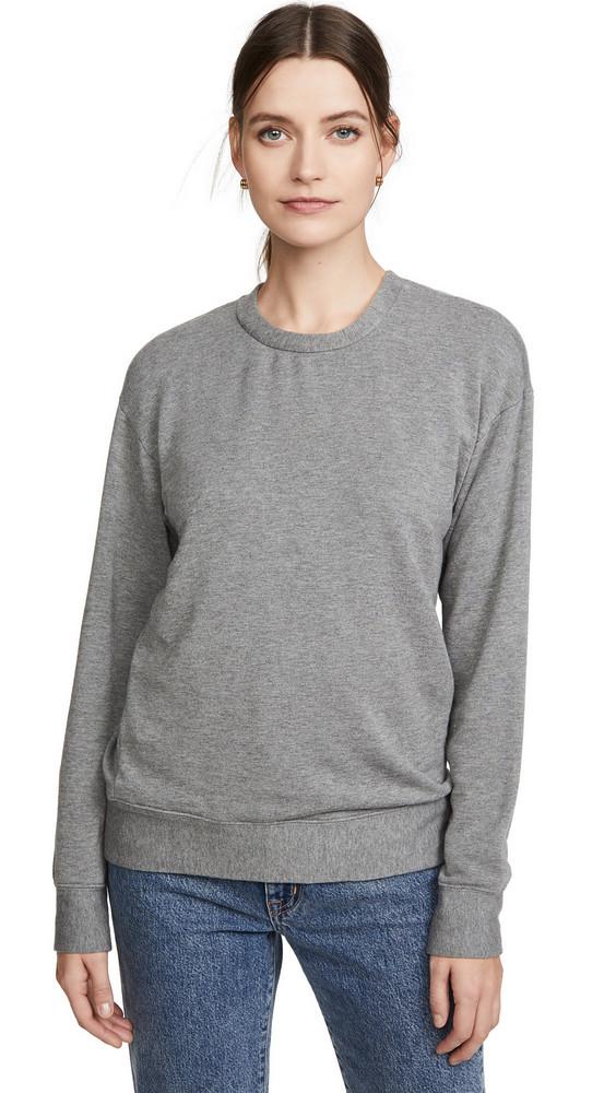 Stateside Viscose Fleece Pullover in grey
