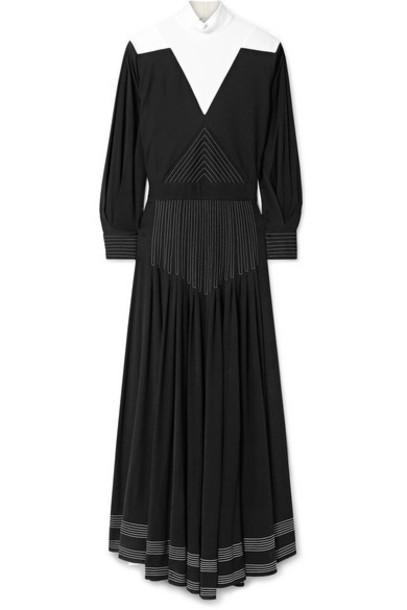 Givenchy - Open-back Jersey Maxi Dress - Black