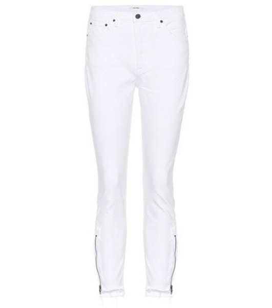 Grlfrnd Kendall  high-rise skinny jeans in white
