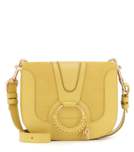 See By Chloé Hana Medium leather shoulder bag in yellow