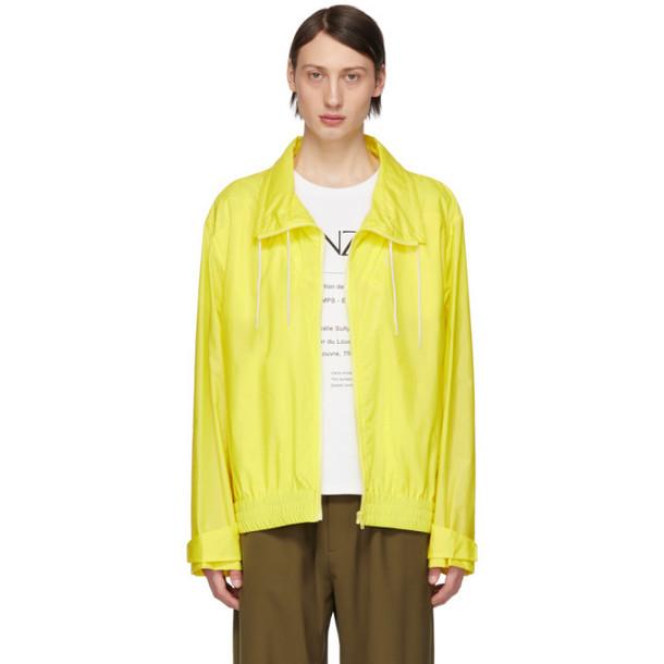 Kenzo Yellow Neon Windbreaker Jacket