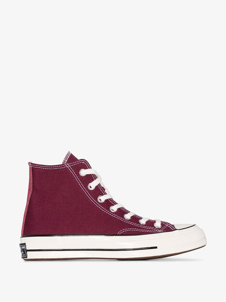 Converse Burgundy Chuck 70 Hi-Top Sneakers