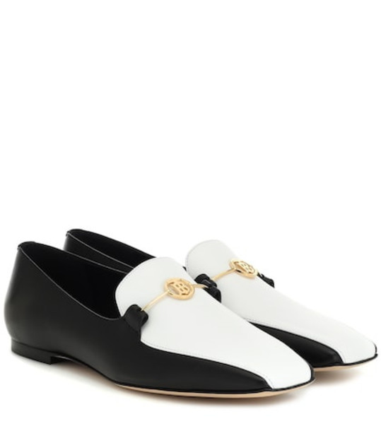 Burberry Almerton leather loafers in black