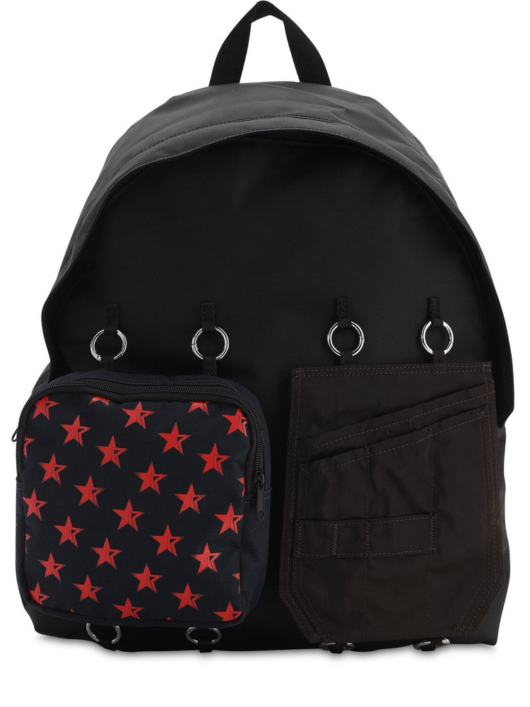 EASTPAK BY RAF SIMONS 30l Eastpak Rs Padded Doubl'r Backpack in black / red