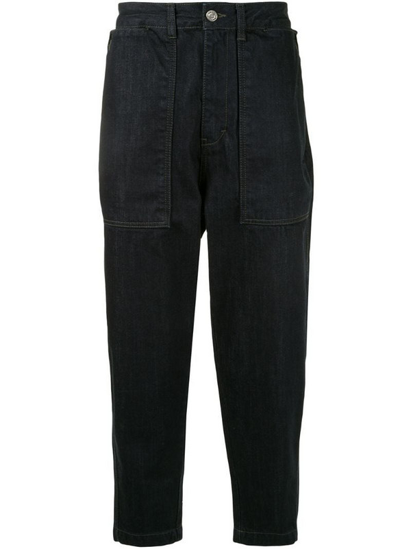 SONGZIO tapered work jeans in blue