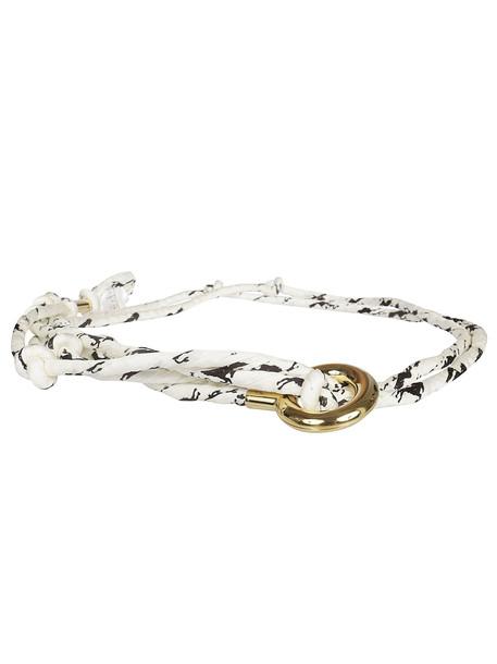 Chloé Chloé Braided Rope Belt in white