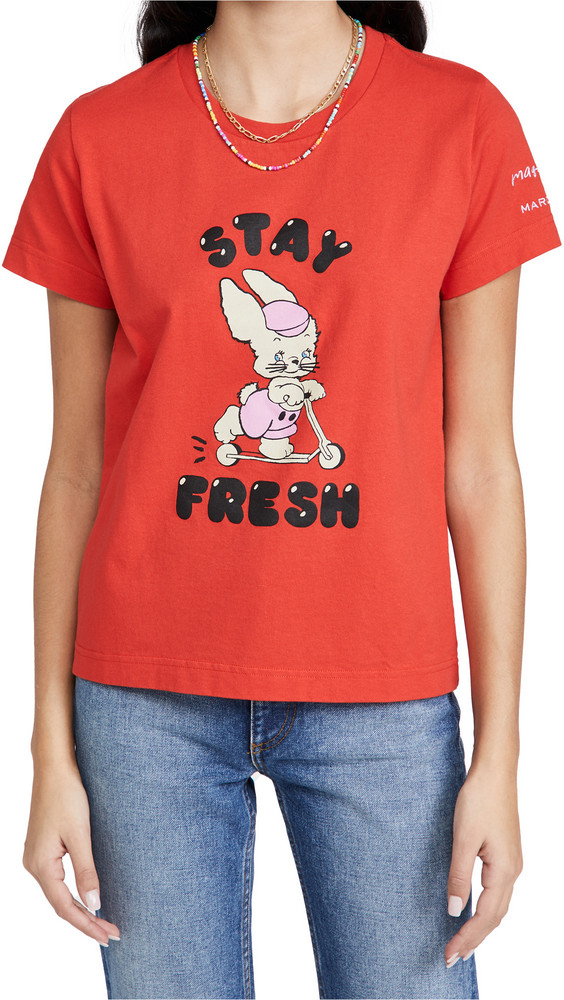 The Marc Jacobs x Magda Archer The Magda T-Shirt in red