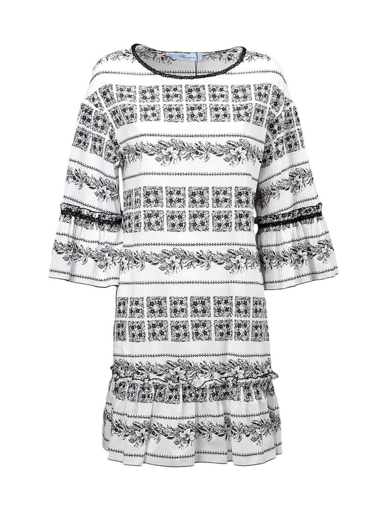 Blumarine Dress in nero / bianco