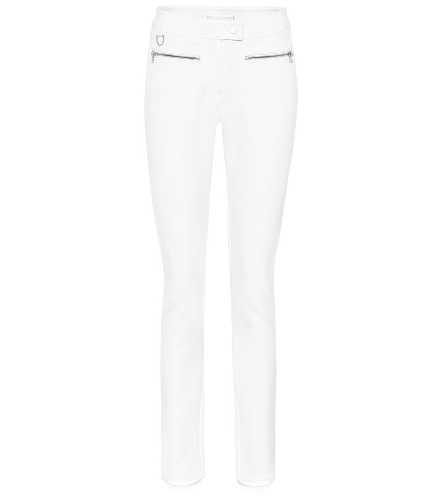 Erin Snow Jes high-rise ski pants in white