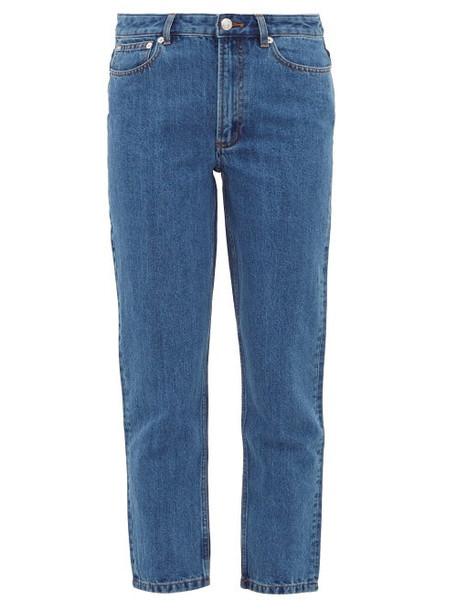 A.P.C. A.p.c. - Jean Straight Leg Jeans - Womens - Denim