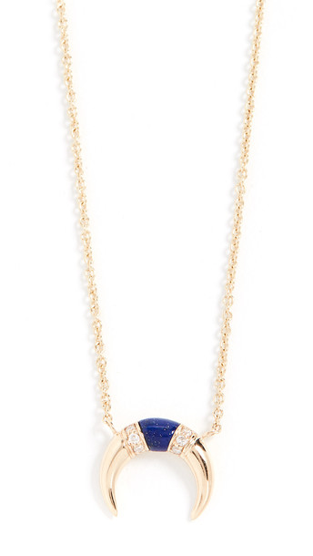 Sydney Evan 14k Gold Small Naja Necklace