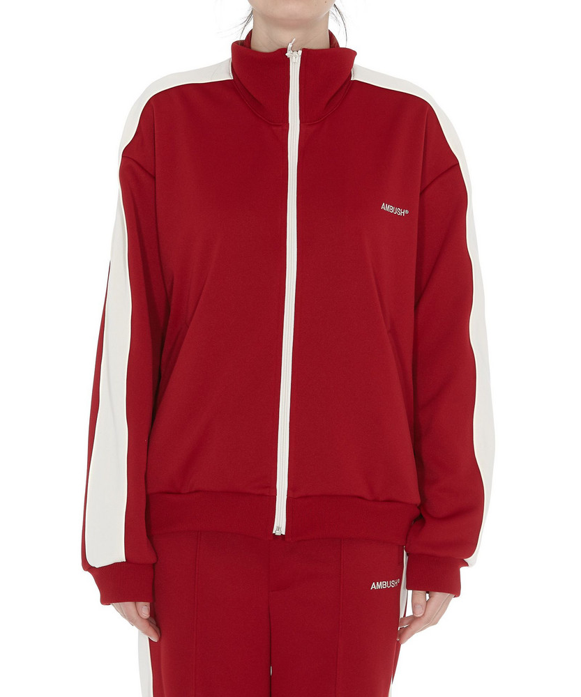 Ambush Waves Track Top in red