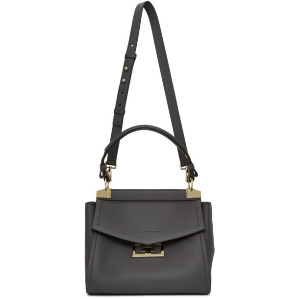 Givenchy Grey Small Mystic Top Handle Bag