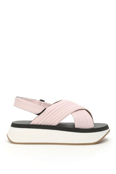 Marni Platform Sandals in rose