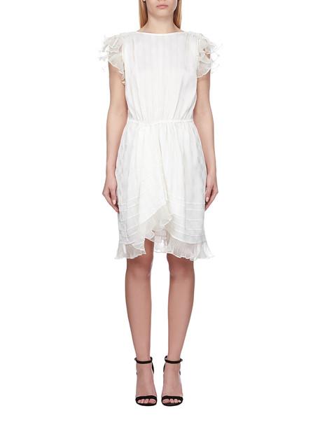 Isabel Marant Asymmetric Dress in ecru