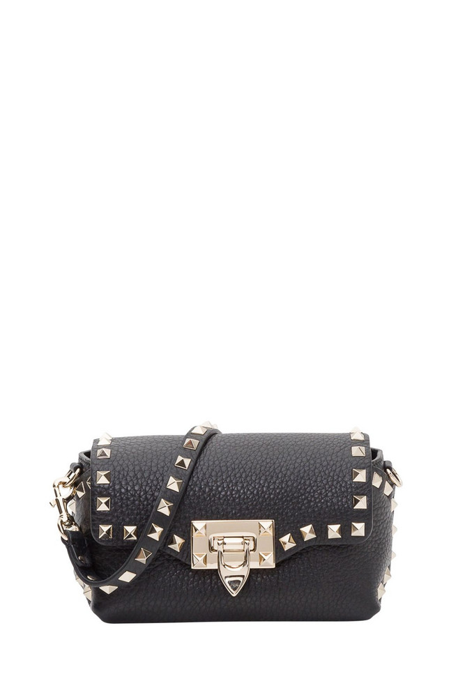 a00f78641189 GIVENCHY Mini Pandora Metal Cross Leather Bag in black - Wheretoget