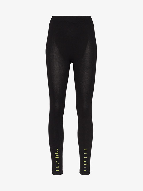 Unravel Project seamless tech leggings in black