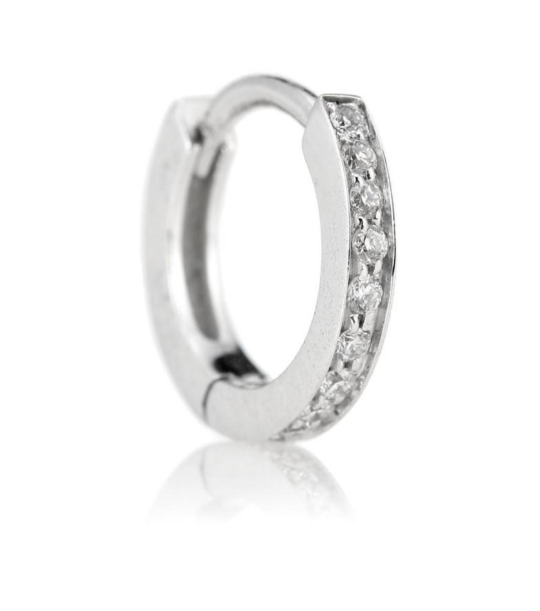 Repossi Berbere white gold single earring with diamonds in silver