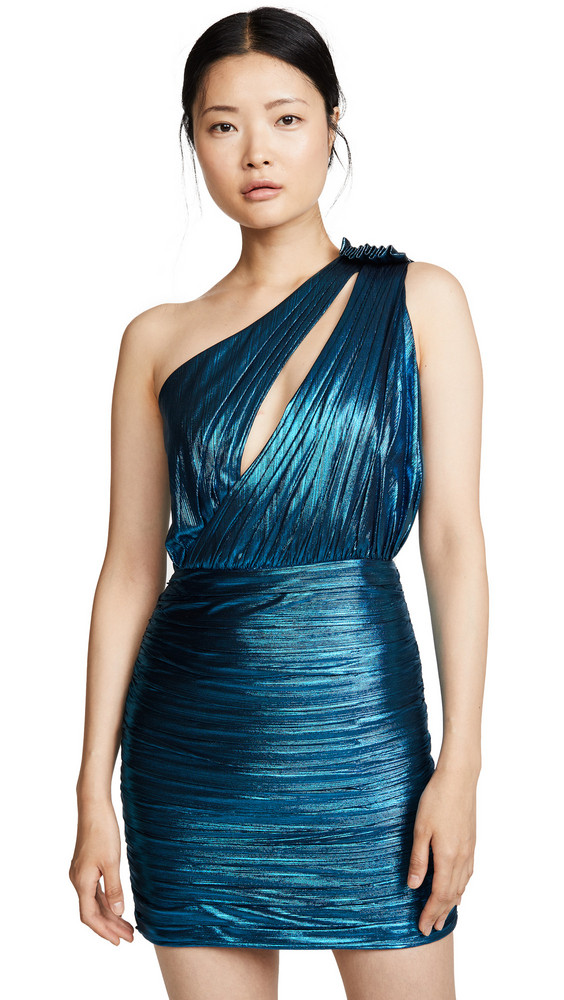 Retrofete Cassia Dress in turquoise