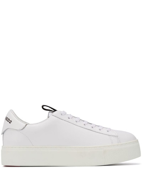 Dsquared2 251 low-top sneakers in white