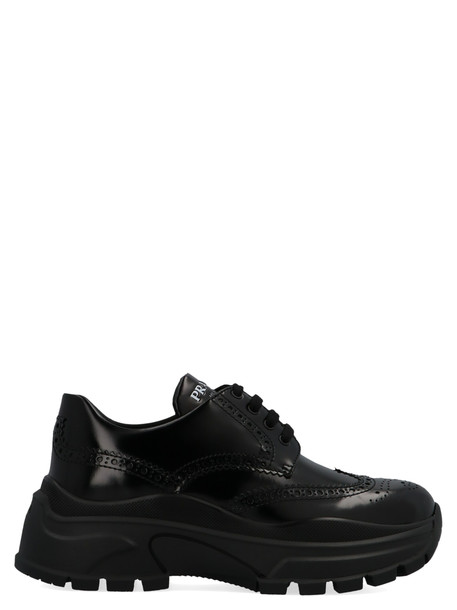 Prada centaurus Shoes in black