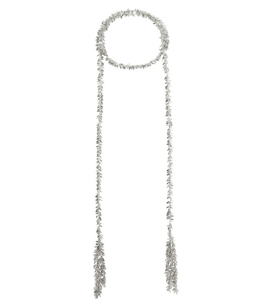 Isabel Marant Leafy necklace in silver
