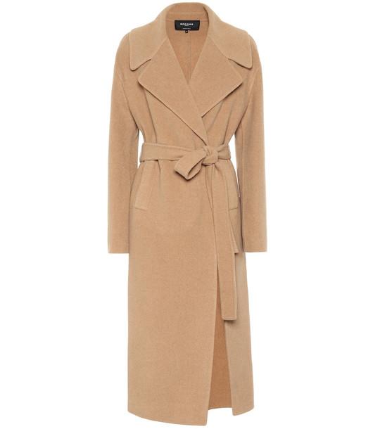 Rochas Wool coat in beige