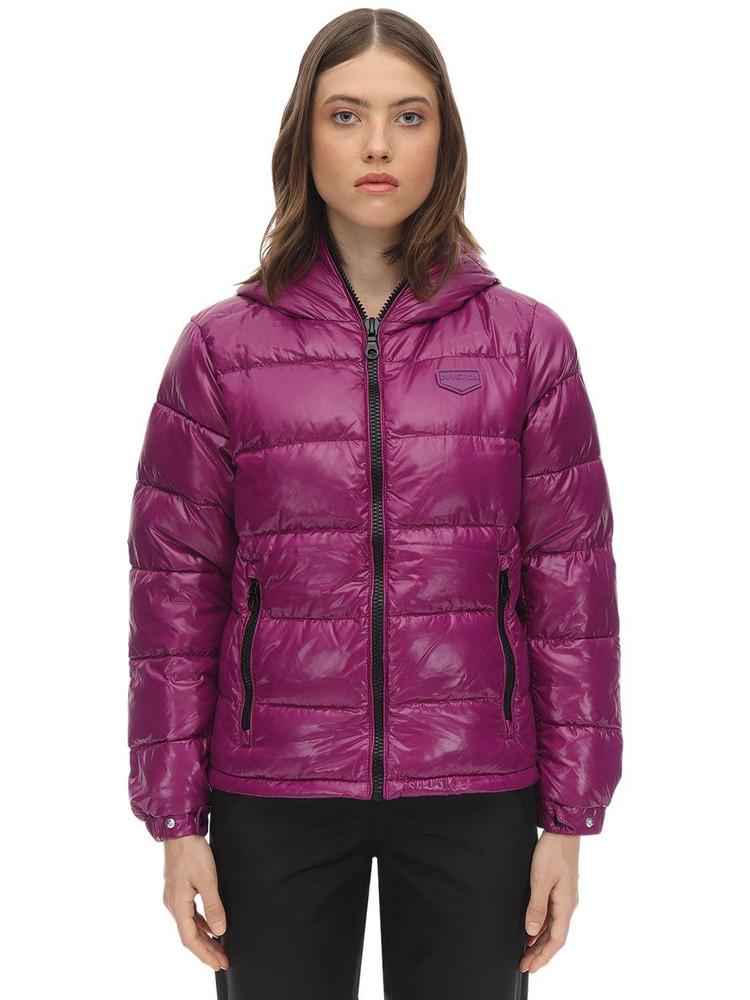 DUVETICA Kuma Nylon Down Jacket in purple